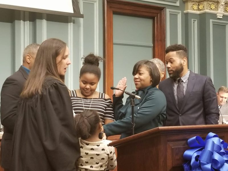 Tameika Isaac Devine Swearing In Ceremony