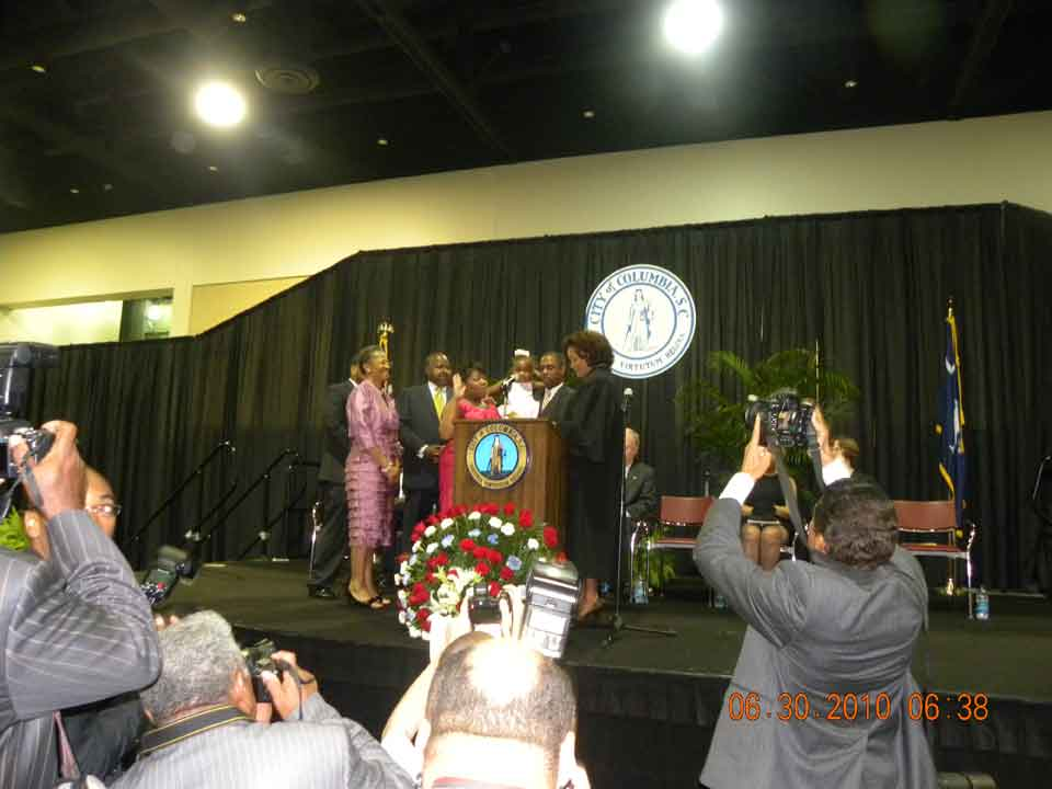 City Council Inauguration of Tameika Isaac Devine