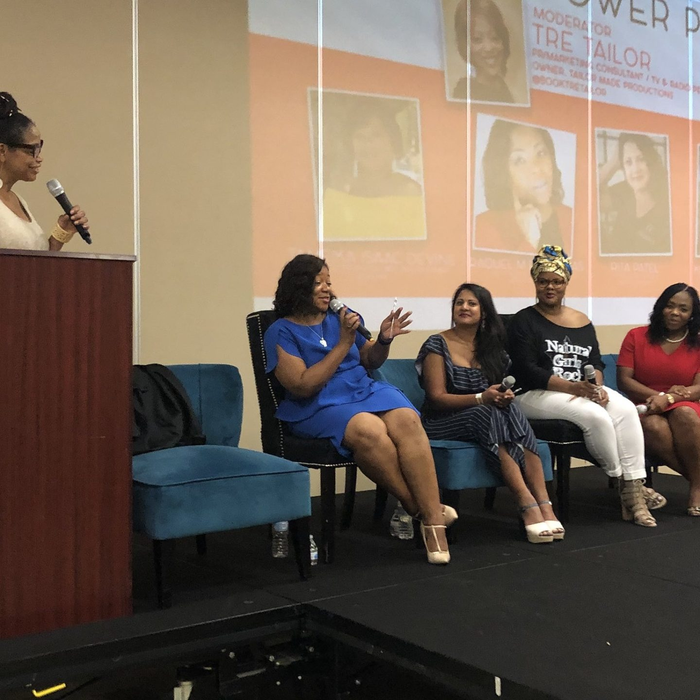 Columbia Sistahs in Business Expo - power panel