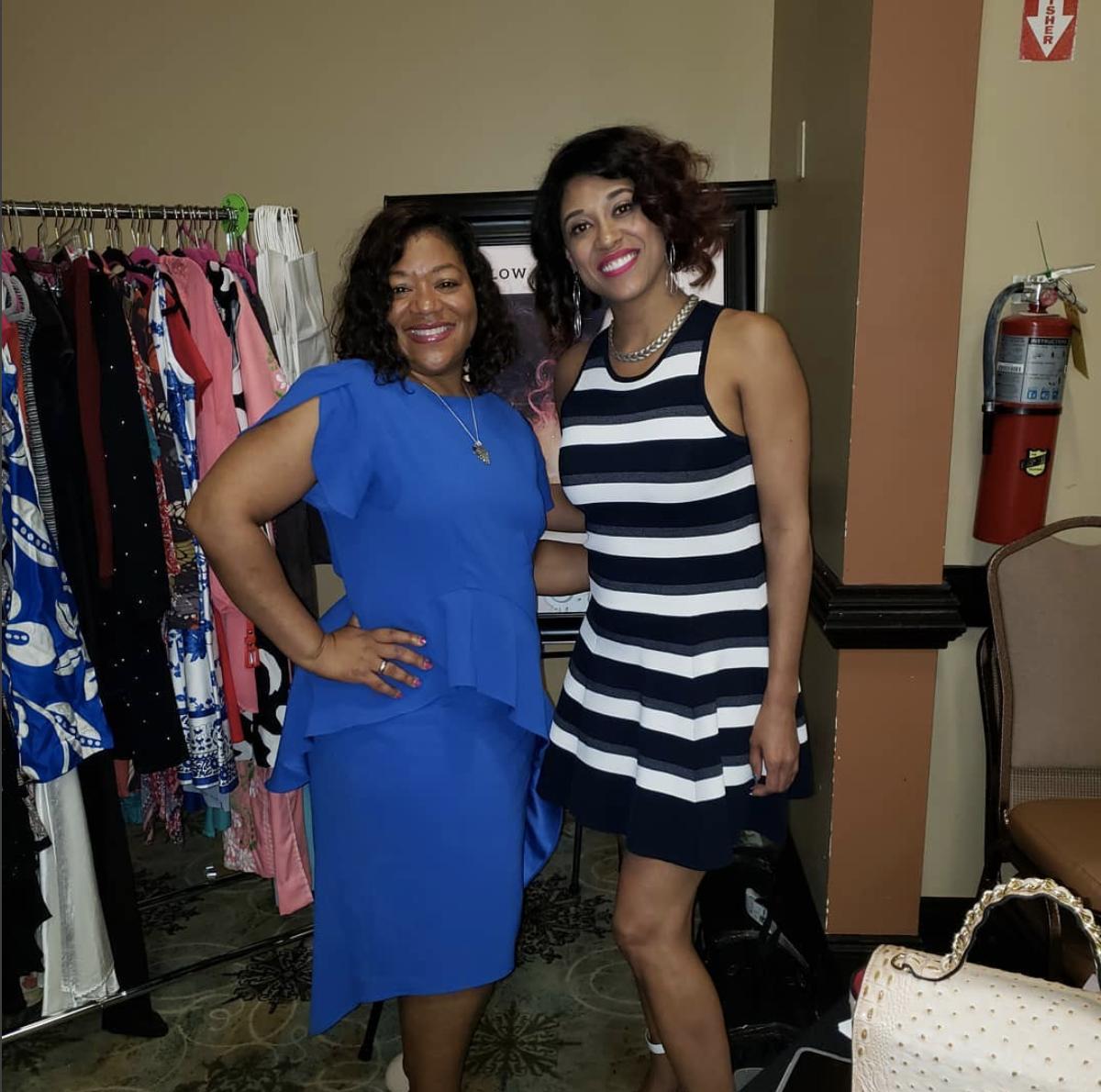 Tameika and Naida at the Style by Naida Bourtique