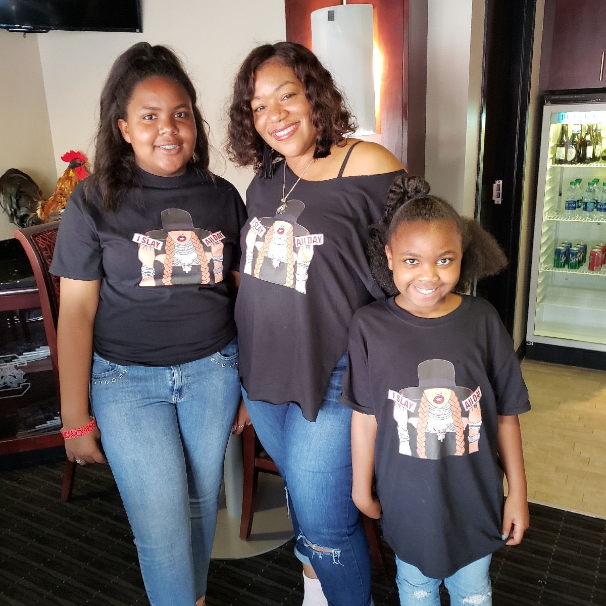 me and my daughters at the Beyonce concert in Columbia SC August 2018