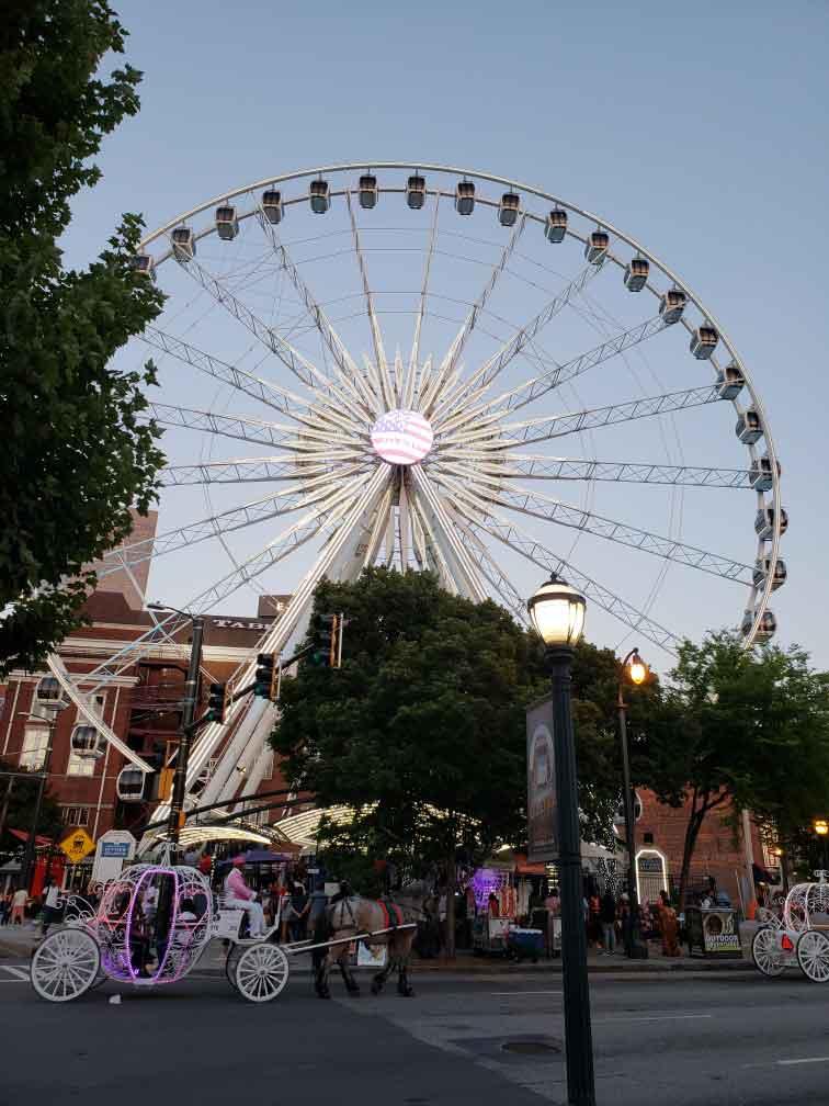 Atlanta, Georgia Ferris Wheel