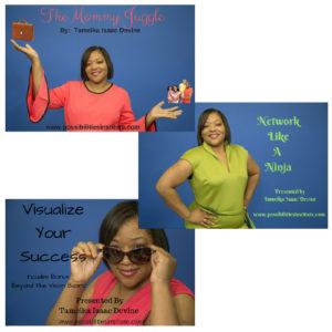 DVD Bundle: Network Like a Ninja, Visualize Your Success, The Mommy Juggle